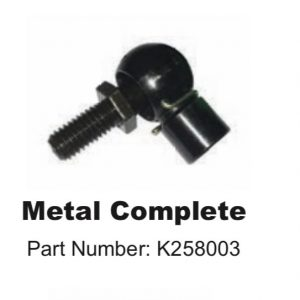 COMPLETE METAL END FITTING