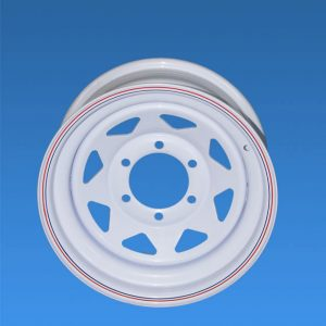 WHEEL 7.0JX16 6/130.7 WHITE